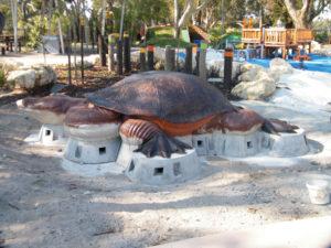 turtle made from jesmonite